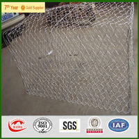 galvanized and PVC coated gabion basket price,gabion box wire fencing
