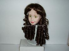 Lovely black doll wigs american girl doll wigs baby doll wigs