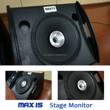 MAX-15 Professional Stage Monitor/Wedge Speaker/15 Inch Coaxial Monitor Speaker