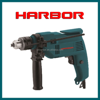 HB-ID006 wood , metal hand drill machine price and specification ,13mm electric impact drilling machine