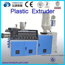 easy control plastic extruder pvc extrusion machineSJZ80