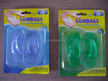 2015 plastic car air freshner sandals