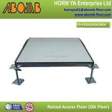 FS1000/FS800/HPL tile/PVC tile anti-static epoxy floor coating raised floor/access floor for computer room