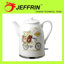 Low price hot selling electric gift 1.5l ceramic kettle