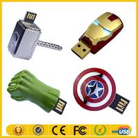 16gb 32gb 64gb 128gb avengers usb flash drive 2.0 with free sample