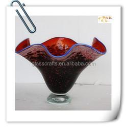 modern style murano glass flower pots wholesale