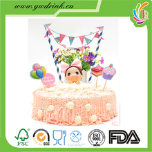 Cake decoration set for birthday party