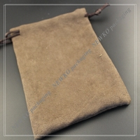 Hot item velvet drawstring pouch bag with hot stamping