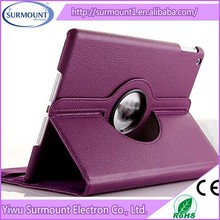 classical fashion new Tablet PC Leather Hand Holder 360 degree rotation tablet cover for ipad 5 air