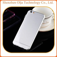 China transparent cover TPU case for iphone 6 0.3mm clear case, for iphone 6 blank case clear tpu