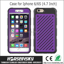 2015 New Design drop-proof,shockproof combo TPU mobile phone shell for Iphone 6 and Iphone 6S,TPU back cover case for Iphone 6S