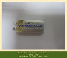 Small size 451725 li polymer battery 120mah li-polymer battery 3.7v for Bluetooth headsets