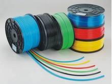 "5/16"" by 50 Feet Pneumatic Braided Reinforced Polyurethane High pressure flexible Air Hose PU hose Pipe Tube Blue"