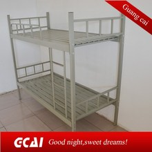 Low cost selling heavy duty adult metal bunk bed temporary dormitory beds
