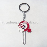 charater metal keychain souvenir