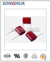 Metalised polypropylene film capacitor CBB21 333J 1600V 33000pf +/-5% film capacitor