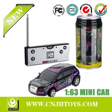 Hot Selling 1:63 Scale Coke Can Package Mini Racing Rc Car Toys 2015-1A