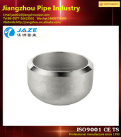 Customized Stainless Steel End Cap for Water Pipe
