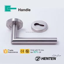 Tade Assurance stainless steel tubular entrance lever door handles GDA002