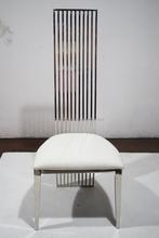 B8068 wholesale resin chiavari white leather dining chair