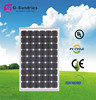 direct factory sale 130w solar panels systems