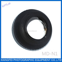XFFLY Adapter ring for camera Minolta MD lens to N1 camera lens adapter for nikon