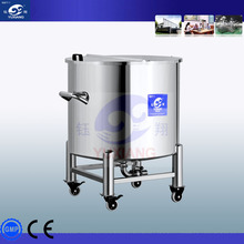 stainess steel top open kerosene storage tank
