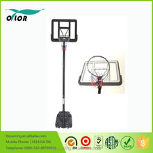 Quick adjustmen 10' portable basketball stand for outdoor practicing