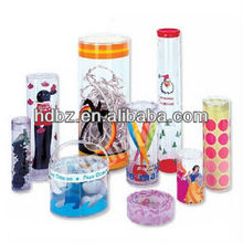 2012 clear plastic 4C printing boxes