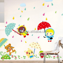 High quality cute animal decorative wall stickers