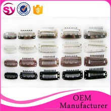 Wholesale Best Quality Stainless Clips, Hair Clips for Human Hair Extension, Clip
