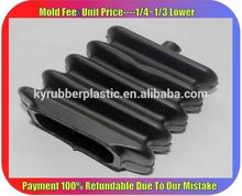 High Quality Square Rubber Bellows / Industrial NBR Bellows Manufacturer / Expansion Joint Rubber Bellows