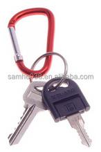 aluminium carabiner key holder