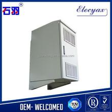 Cold rolled steel equipment rack/telecom outdoor enclosure/Waterproof IP54 metal case with lock