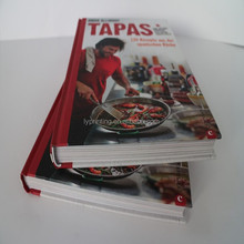 Custom High Quality Coloring Hardcover Cook & Photo Book Printing