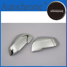 China wholesale stylish car parts chrome side mirror cover with integrated turn signal light for BMW F30 3 Series