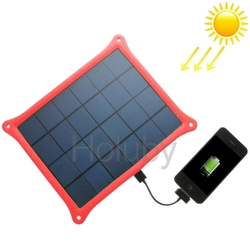 Most Popular Colorful Portable 5v Solar Panel Charger for Mobile Phone, Digital Camera, MP3, MP4, PDA, GPS
