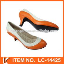 nuevo diseño cómodo del alto talón zapatos de vestir para las mujeres