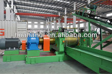 tire recycling machinery