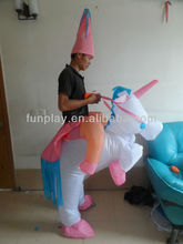 CE Funny inflatable horse costume
