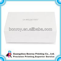 Offset printing plain cardboard gift boxes