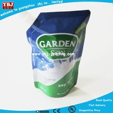 handle washing liquid packaging bag/spout sachet/nozzle and hang hole pouches
