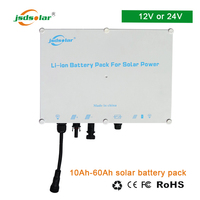 Domestic solar charge controller usb 5v 3a output 24v 10ah lifepo4 battery pack
