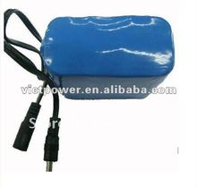 2012 Hot sell !!! 12V12AH lifepo4 battery pack for power tools with blue PVC