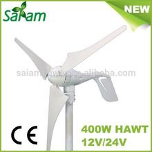Promotion low speed 400W wind turbine /wind power generator