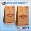 Food grade popcorn paper bag potato chips paper bag fried chicken bag