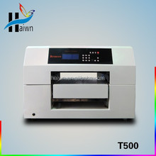 A3 digital flatbed printer , printer ribbon ,satin ribbon printer haiwn t500