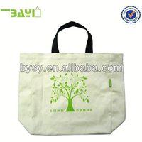 Canvas shopping bagnonwoven disposablecotton bag canvas bag