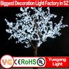 garden decorative tree light white decorative tree branch flower light