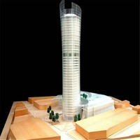 Modern Residential Architecture for Bidding , Cad Drawing Building Model